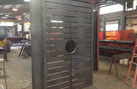 Custom Fabricated Door